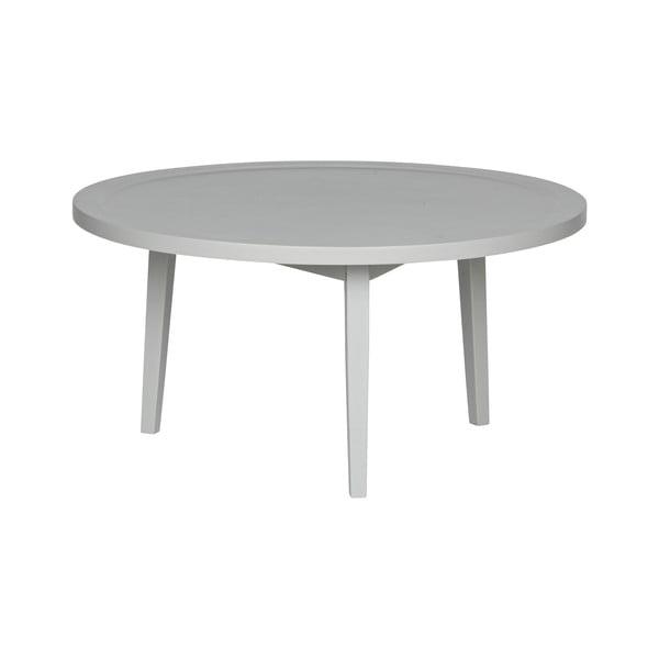 Šedý konferenční stolek vtwonen Sprokkeltafel, ⌀80cm