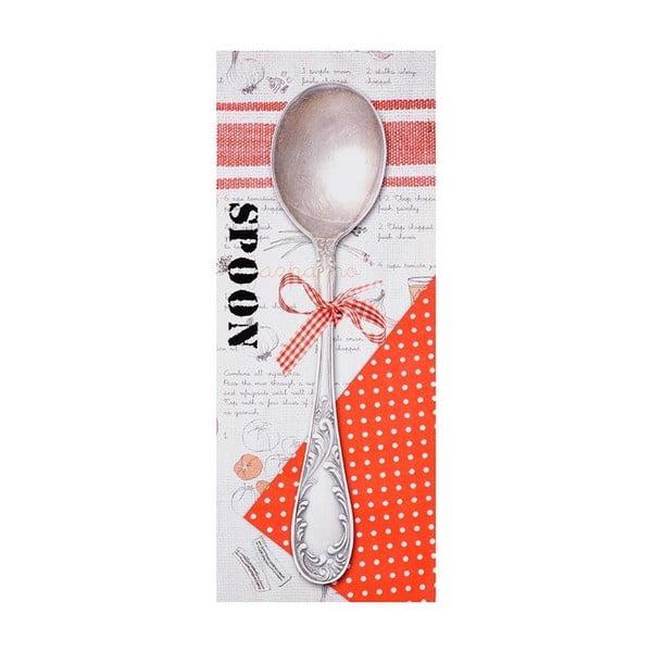 Obraz na plátně Spoon, 60x24 cm
