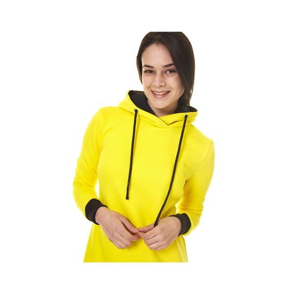 Domácí dlouhá mikina Streetfly Yellow, vel. S