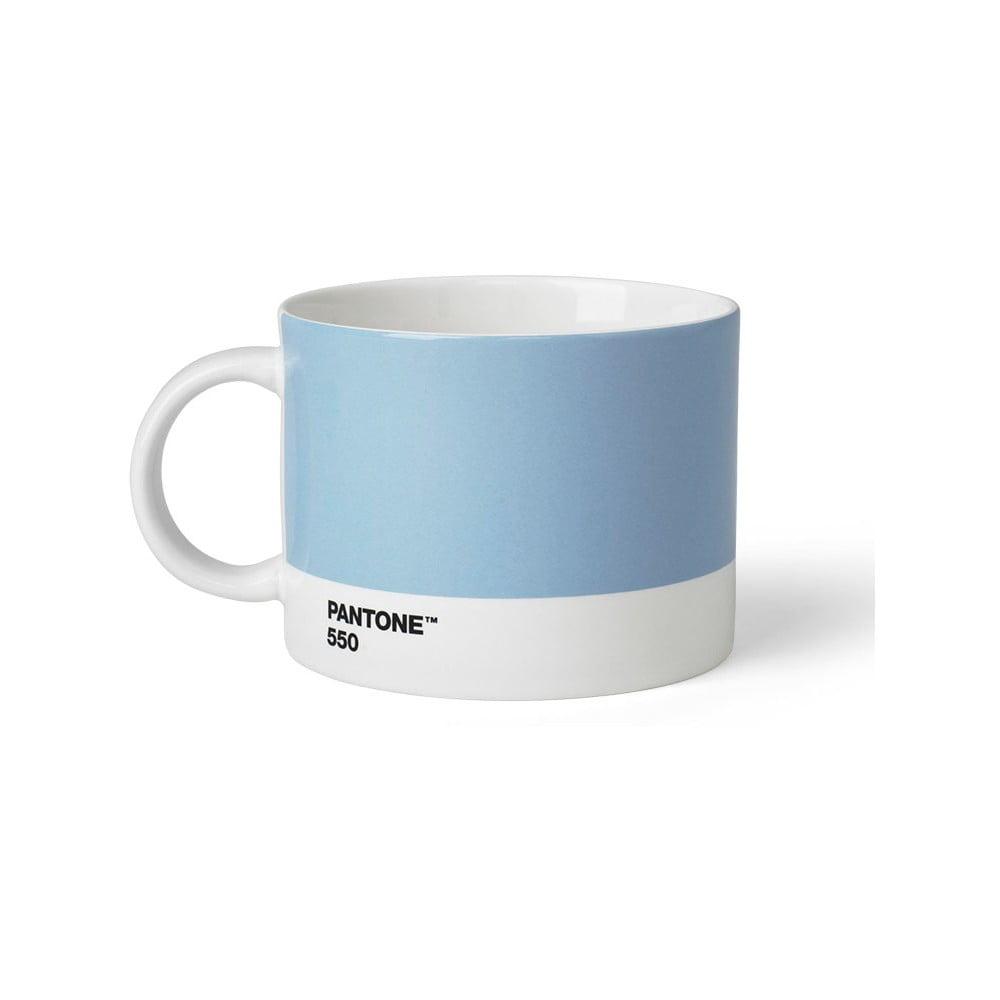 Světle modrý hrnek na čaj Pantone 550, 475 ml