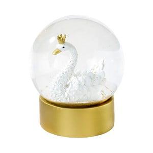 Dekorativní sněžítko s labutí Talking tables,⌀10cm