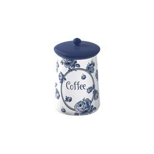 Keramická dóza na kávu Creative Tops Vintage Indigo, Ø 9 cm