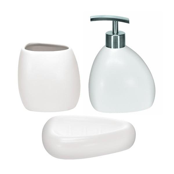 Koupelnový set Ethno White