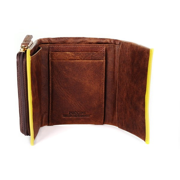 Kožená peněženka Scafati Puccini