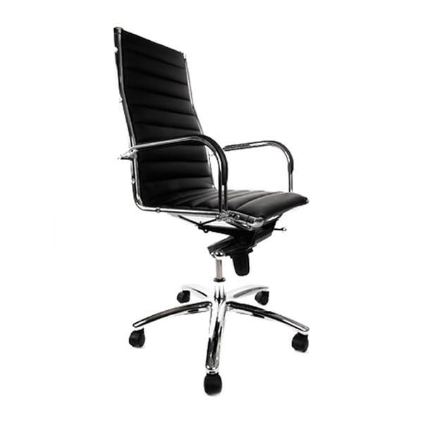 Czarny fotel biurowy Kokoon Torino
