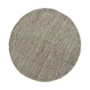 Vlněný koberec Asko,90 cm, šedobéžový