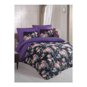 Lenjerie de pat cu cearșaf Jaden, 200 x 220 cm