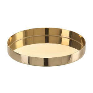 Tavă A Simple Mess Vilma, ⌀ 10,5 cm, auriu
