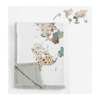 Pătură din microfibră Really Nice Things Patchworld, 130 x 170 cm imagine
