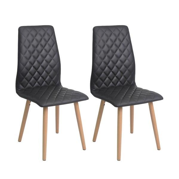 Sada 2 jídelních židlí Colton