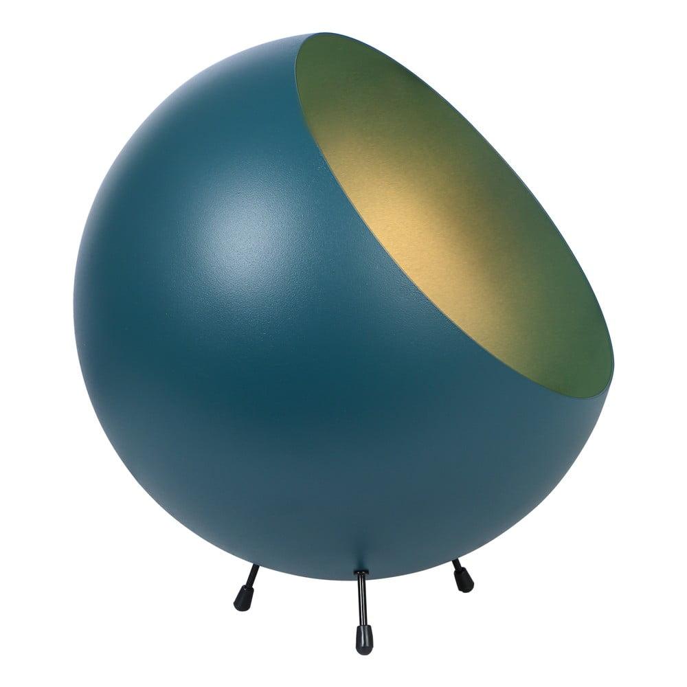 Stolní lampa v matné modrozelené barvě Leitmotiv Bell