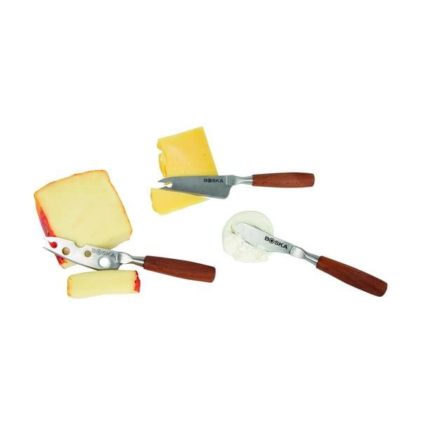 Sada 3 nožů na sýr Boska Cheese Knife Set Mini Vienna