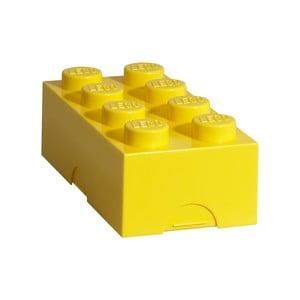 Žlutý svačinový box LEGO®