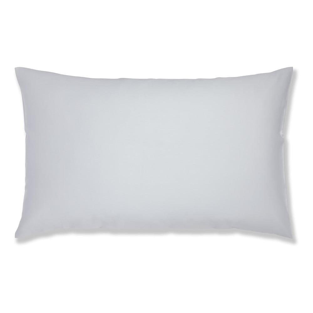 Sada 2 šedých bavlněných povlaků na polštář Bianca Standard, 50 x 75 cm