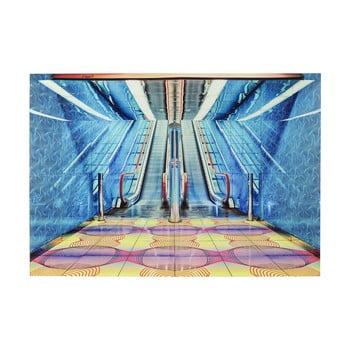 Tablou din sticlă Kare Design Escalator Show, 120 x 80 cm