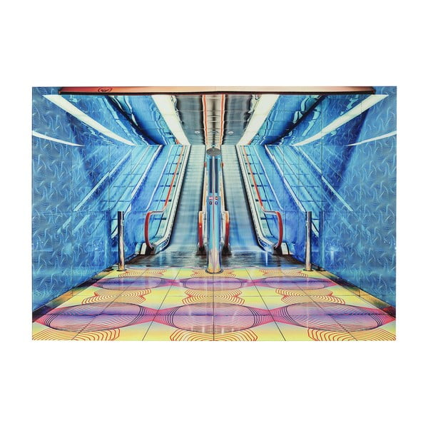 Skleněný obraz Kare Design Escalator Show, 120x80cm