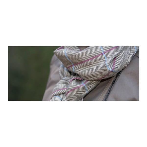 Vlněná šála s hedvábím Bonni Sinclair Duncan