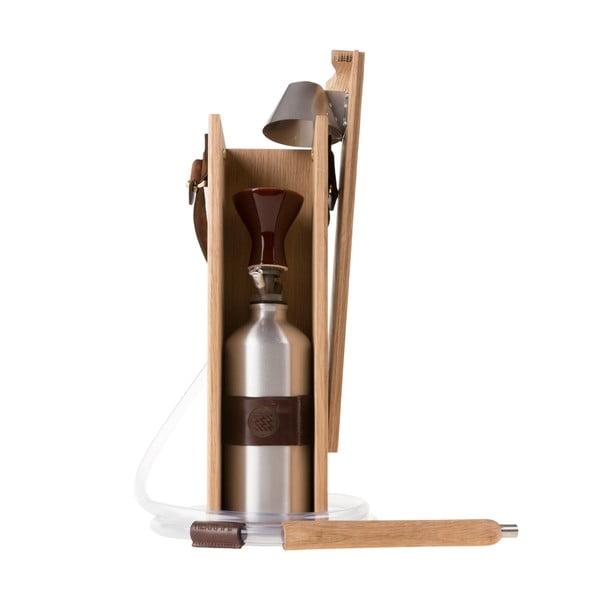 Designová vodní dýmka Hekkpipe Deluxe, hnědá