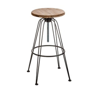 Barová stolička z jedlového dřeva VICAL HOME Lodz