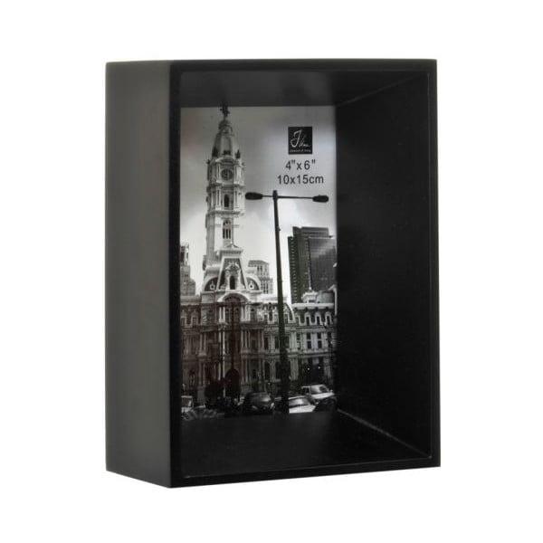 Fotorámeček Broad Black, 13,5x7x18 cm