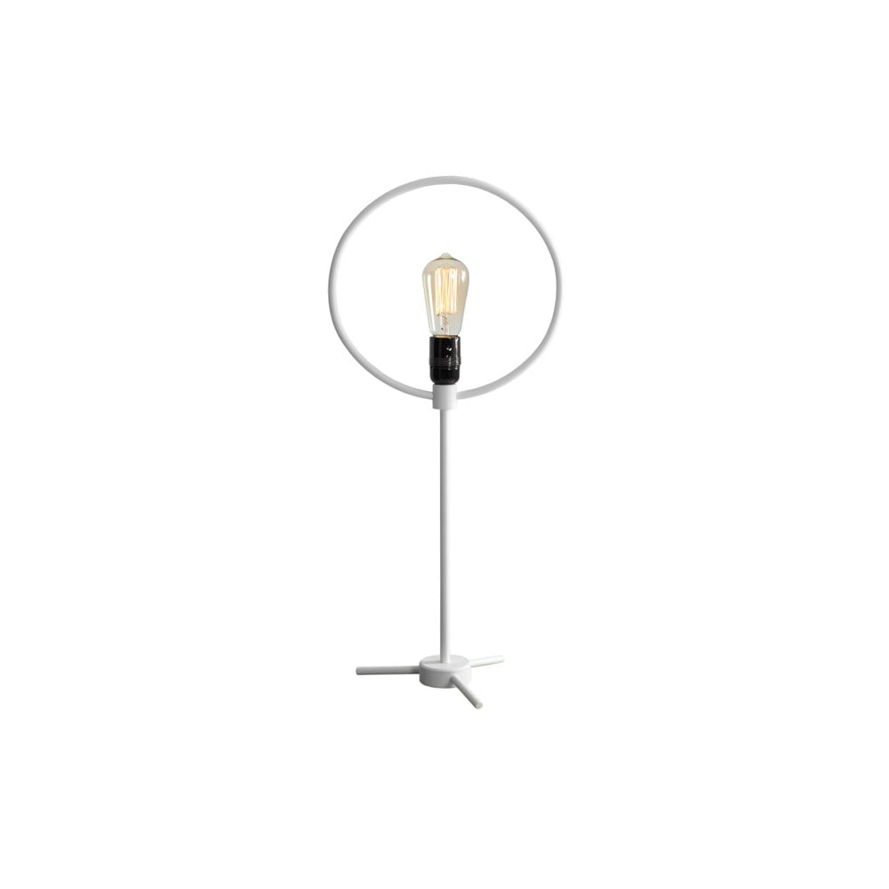 Bílá stolní lampa Custom Form Bullet
