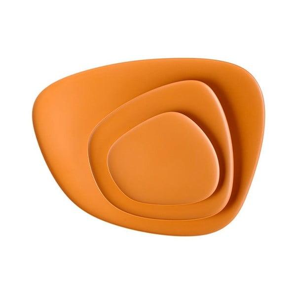 Set 3 táců Namasté Orange