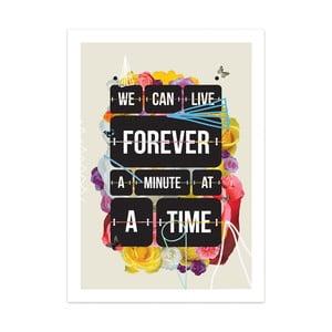 Plakát Time of your life, limitovaná edice