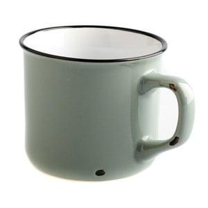 Šedý keramický hrnek Dakls Story Time Over Tea, 230 ml