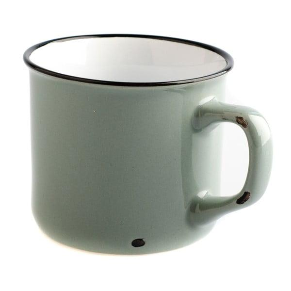 Cană din ceramică Dakls Story Time Over Tea, 230 ml, gri