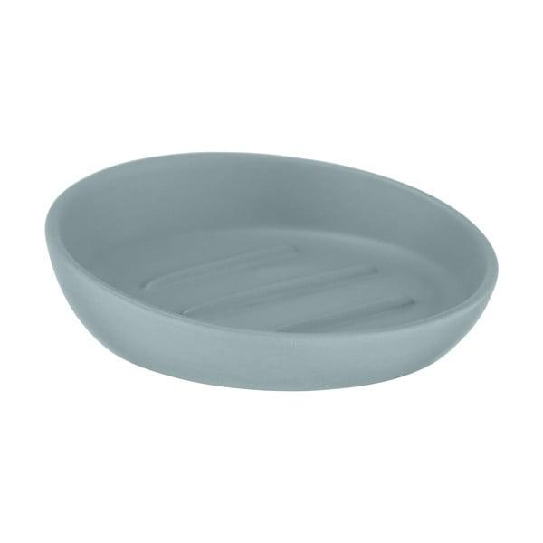 Săpunieră ceramică Wenko Badi, gri - albastru