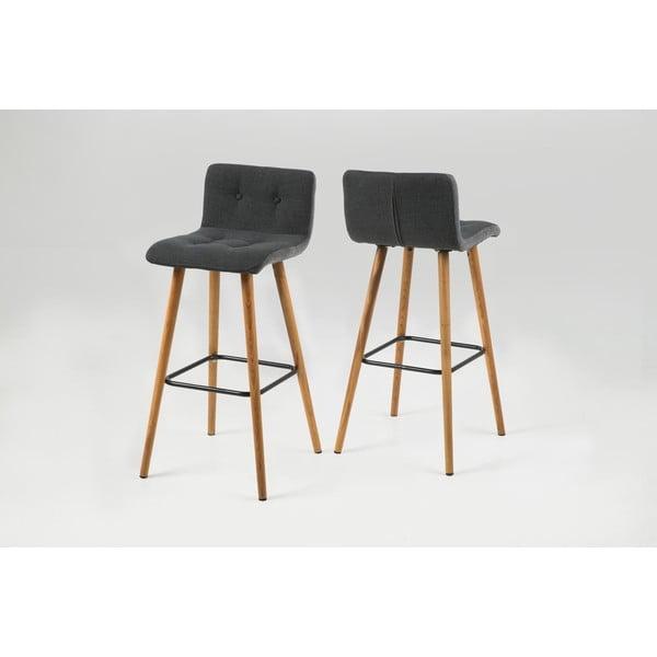 Barová židle Frida, tmavě šedá