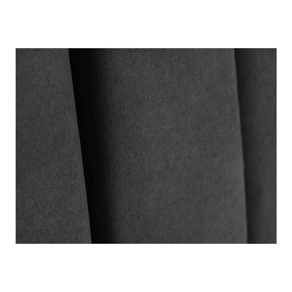 Tmavě šedé čelo postele Kooko Home Kasso, 120 x 160 cm