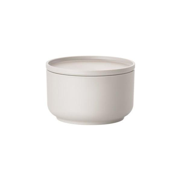 Bol servire cu capac Zone Peili, 500 ml, alb