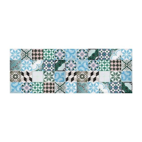 Vinylový koberec Mosaico Turquesa, 66x180 cm