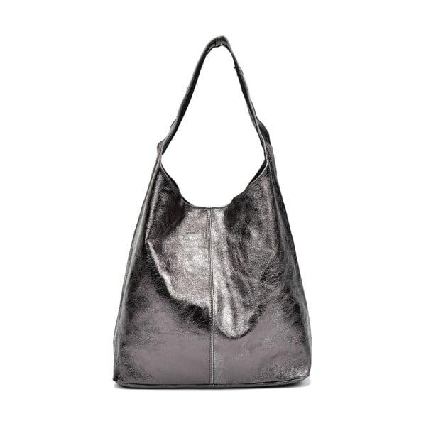 Černá kožená kabelka Sofia Cardoni Andrea
