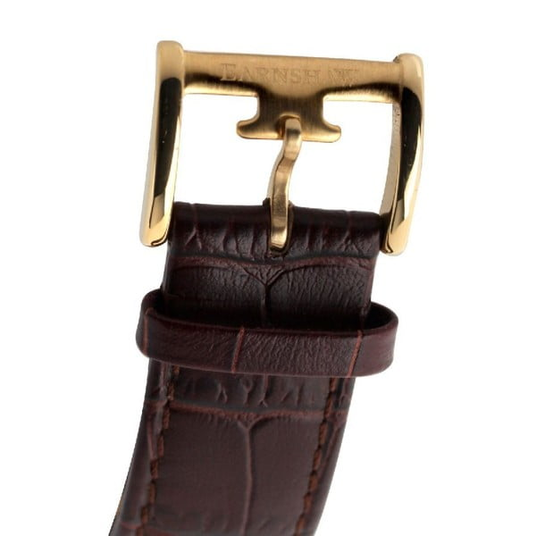 Pánské hodinky Thomas Earnshaw Gold/Dark Brown