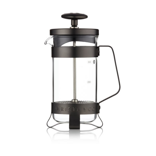 French press Barista 350 ml, černý
