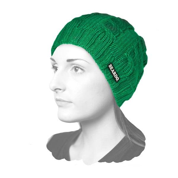 Multifunkční čepice Houdini 3v1, zelená