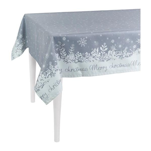 Sivý vianočný obrus Apolena Honey, Christmas 140×140 cm