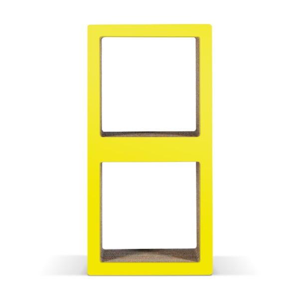 Kartonová knihovnička Bit Due Yellow