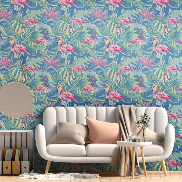 Ścienna naklejka dekoracyjna Ambiance Colombia, 60x60 cm
