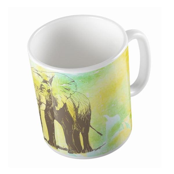Keramický hrnek Butter Kings Pencil Elephant, 330 ml