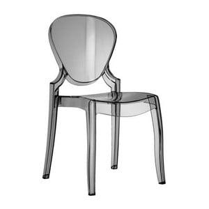 Židle Queen 650, kouřová