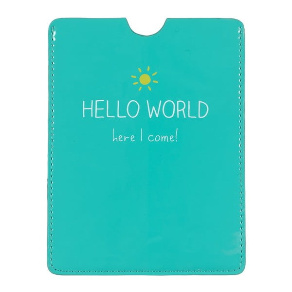 Pouzdro na pas Happy Jackson Hello World