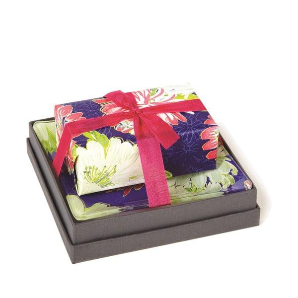 Dárkově zabalené mýdlo Nisha z kolekce Bouquet