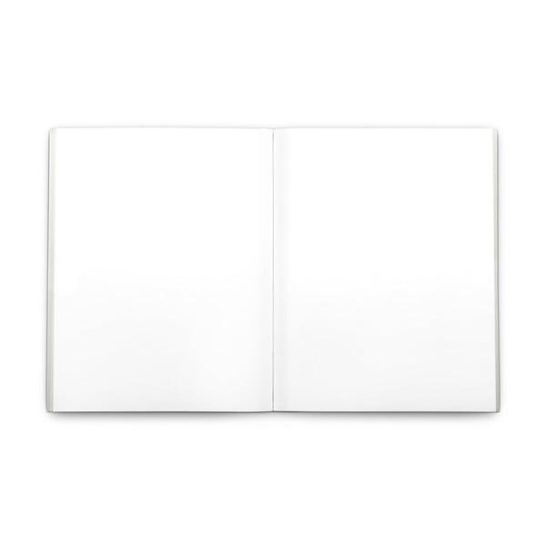 Zápisník Plumb, stříbrný