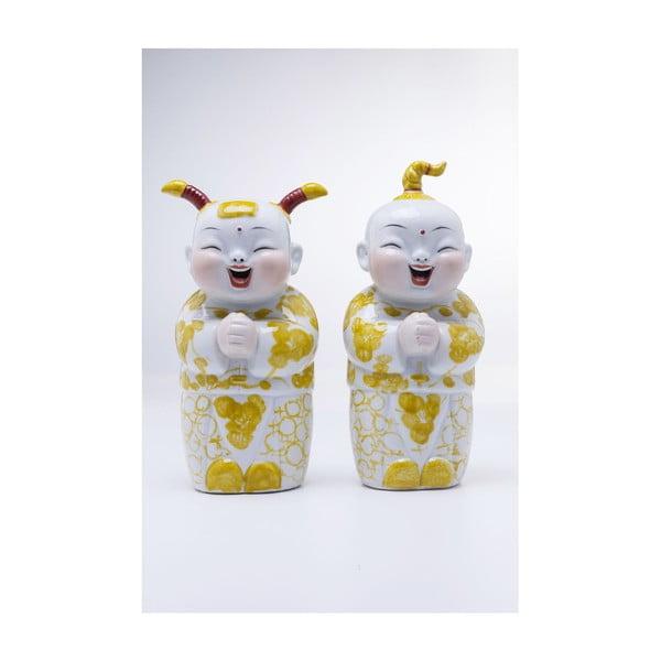 Sada 2 dekorativních figurek Kare Design Happy Kids