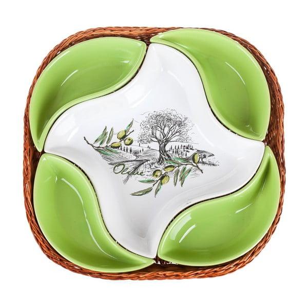 Mísa v košíku Banquet Olives, 28 cm