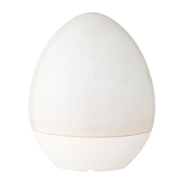 Šedá kameninová dekorace ve tvaru vejce Bloomingville