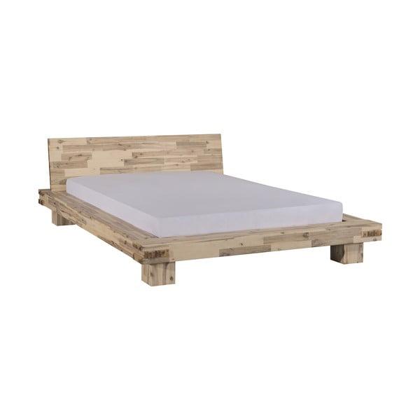 Dřevěná postel Lima 160x200 cm